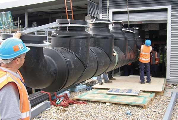 GF provides pipe fabrication service