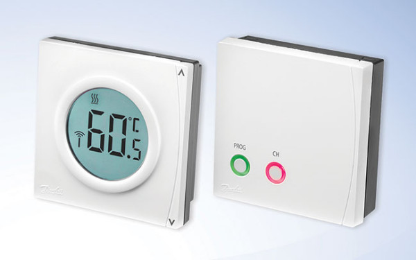 New wireless thermostat from Danfoss