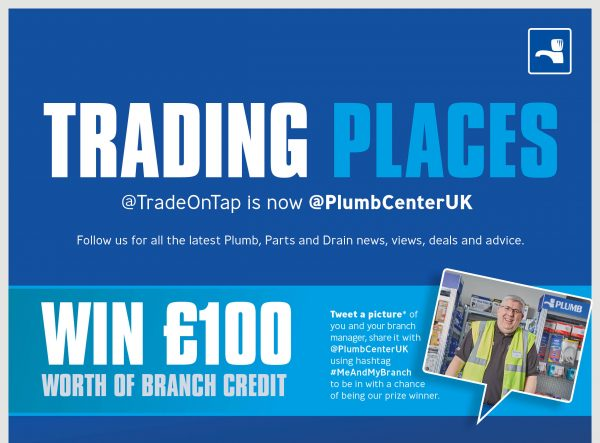 Plumb and Parts Center turns over a new Tweet