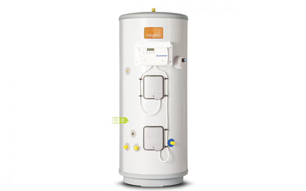 Free hot water from Megaflo
