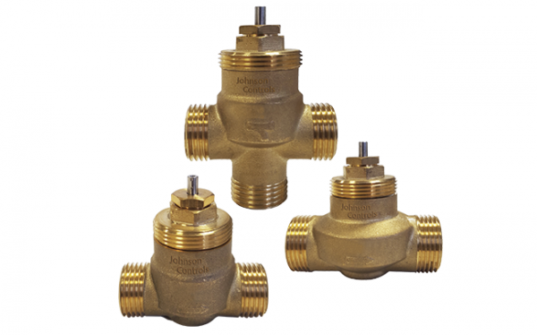 Johnson forges brass globe valves for terminal units