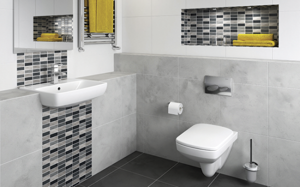 Geberit and Twyford wall-hung WCs form a dynamic duo