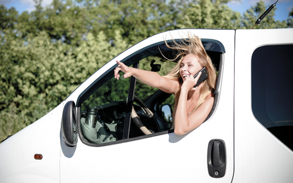 The rise of white van woman