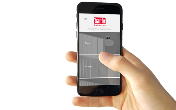 Barlo Radiators launches augmented reality app in heating industry first