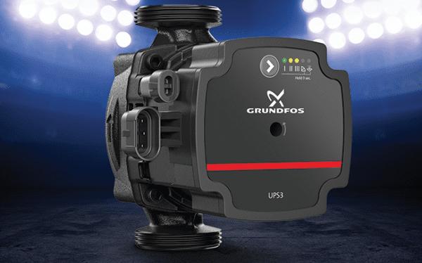 Grundfos UPS3 – the most  versatile player around